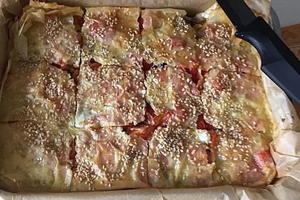 Spinat-Tomate-Feta-Börek vom Blech 14