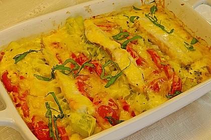 Fisch-Gemüse-Auflauf à la Anne