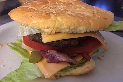 Low Carb Burgerbrötchen 'Oopsies' 96