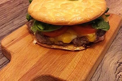 Low Carb Burgerbrötchen 'Oopsies' 101