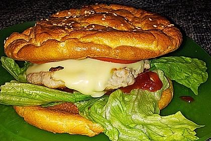 Low Carb Burgerbrötchen 'Oopsies' 33