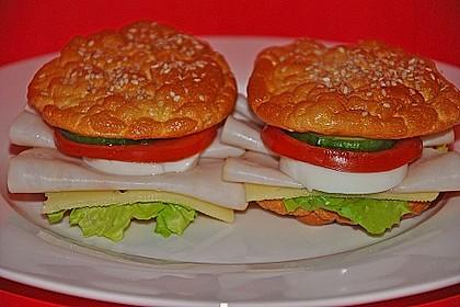 Low Carb Burgerbrötchen 'Oopsies' 26