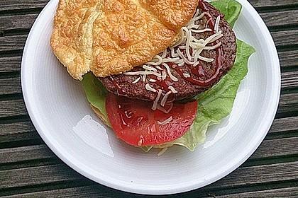Low Carb Burgerbrötchen 'Oopsies' 13