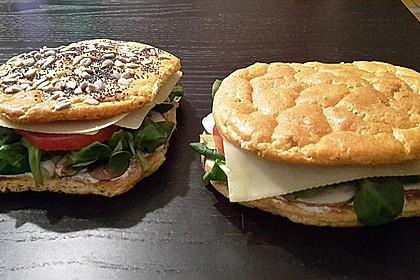 Low Carb Burgerbrötchen 'Oopsies' 15