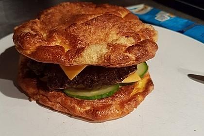 Low Carb Burgerbrötchen 'Oopsies' 8
