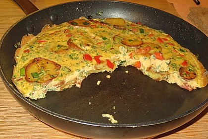 Gemüse-Tortilla (Bild)