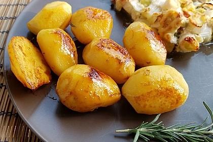 Braune oder karamellisierte Kartoffeln 9