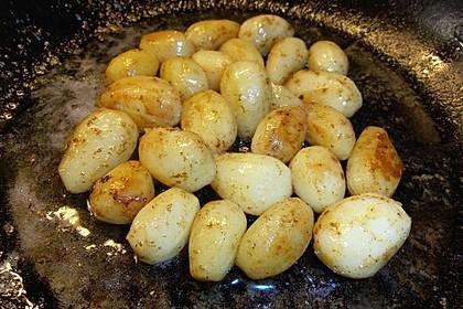 Braune oder karamellisierte Kartoffeln 13