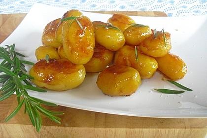 Braune oder karamellisierte Kartoffeln 4