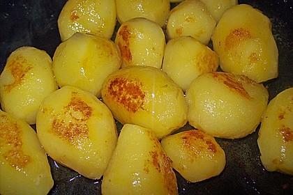 Braune oder karamellisierte Kartoffeln 11