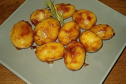 Braune oder karamellisierte Kartoffeln 8