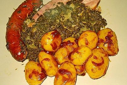 Braune oder karamellisierte Kartoffeln 14