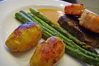 Braune oder karamellisierte Kartoffeln 1