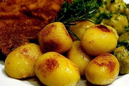 Braune oder karamellisierte Kartoffeln 3