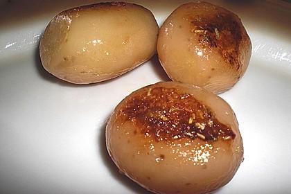 Braune oder karamellisierte Kartoffeln 16