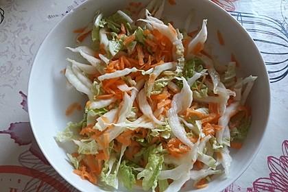 Chinakohl-Karotten Salat 4