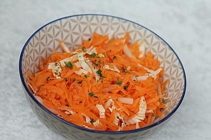 Chinakohl-Karotten Salat 1