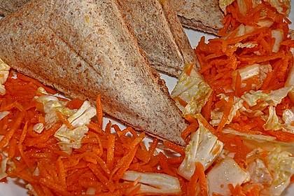 Chinakohl-Karotten Salat 9