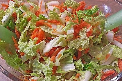 Chinakohl-Karotten Salat 13