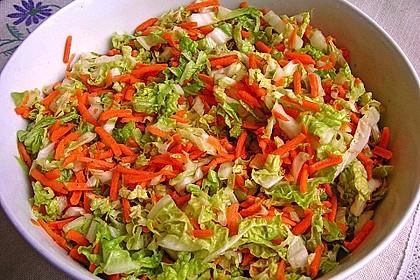 Chinakohl-Karotten Salat 5