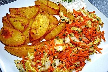 Chinakohl-Karotten Salat 3