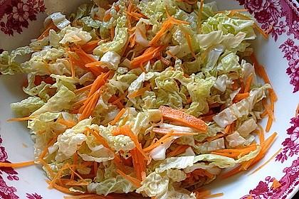 Chinakohl-Karotten Salat 2