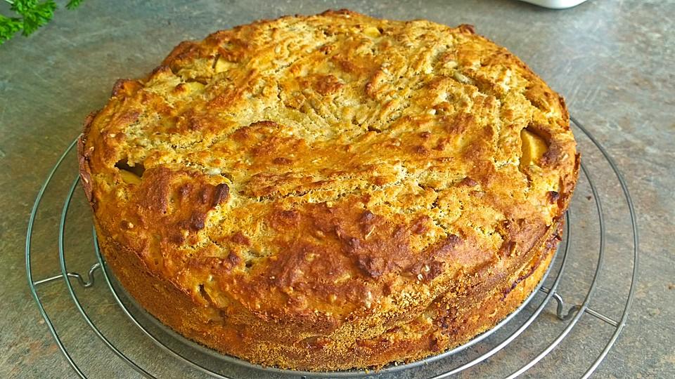 Apfelkuchen Aus Altem Brot Von Misszucchini Chefkoch