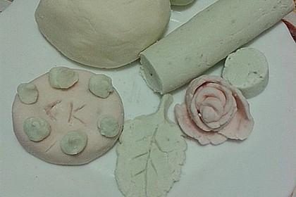 Essbare Knete/Modelliermasse aus Weingummi 6