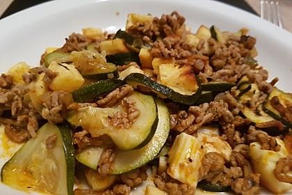 Griechischer Zucchini-Auflauf mit Feta 6