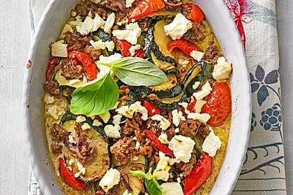 Griechischer Zucchini-Auflauf mit Feta 8