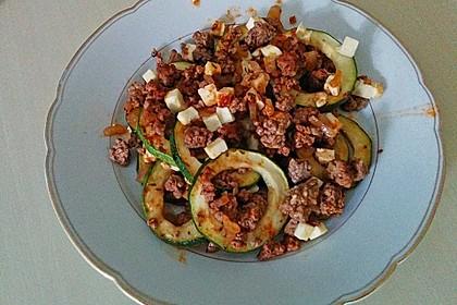 Griechischer Zucchini-Auflauf mit Feta 23