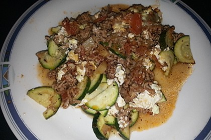 Griechischer Zucchini-Auflauf mit Feta 28