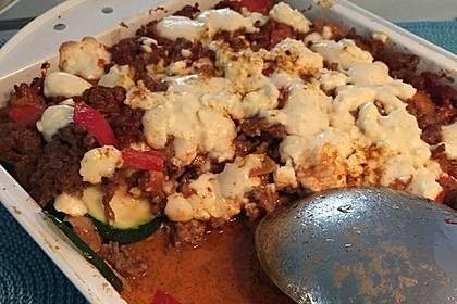Griechischer Zucchini-Auflauf mit Feta 16