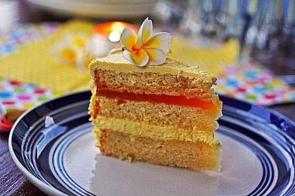 Maracuja-Buttercreme-Torte