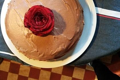 All-American Schokoladen Kuchen  - Schokolade in Kuchenform - mehr geht nicht