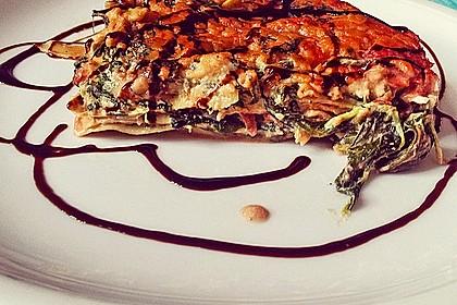 Cashew-Spinat-Lasagne 2