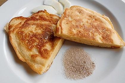 Feine Vanillejoghurt-Apfelpfannkuchen à la Gaga 1