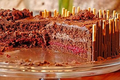 Schweinchen-Matsch Torte 6