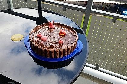 Schweinchen-Matsch Torte 4