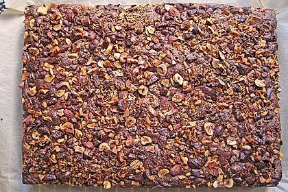 Schokoladen-Weihnachtsbrownies mit Toffeelikör 2