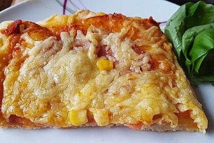 """Schneller Pizzateig """"American Style"""" (Bild)"""