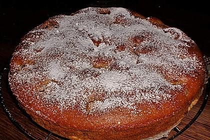 Apfelkuchen mit karamellisierten Walnüssen 3