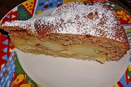 Apfelkuchen mit karamellisierten Walnüssen 1