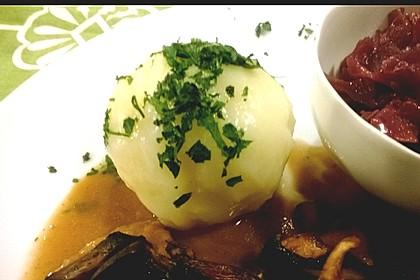 "Gekochte Kartoffelknödel "" Spessarter Art "" 7"