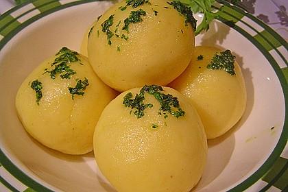 "Gekochte Kartoffelknödel "" Spessarter Art "" 1"