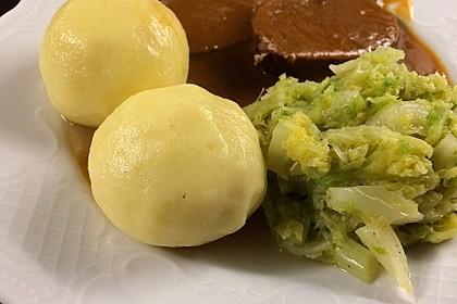"Gekochte Kartoffelknödel "" Spessarter Art "" 5"