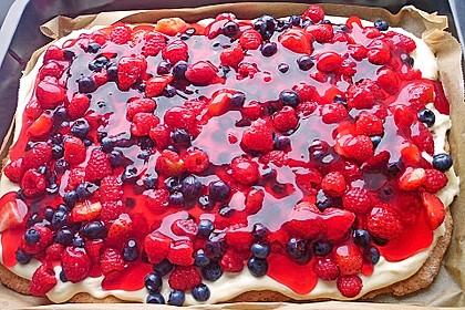 Schneller Sommerkuchen bzw. Beerenkuchen 1