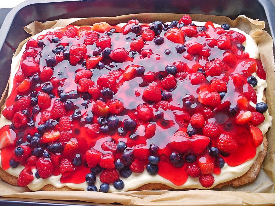 Schneller Sommerkuchen Bzw Beerenkuchen Chefkoch De