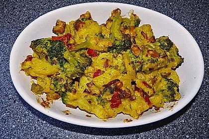 Brokkoli-Kartoffel-Auflauf, vegan 2