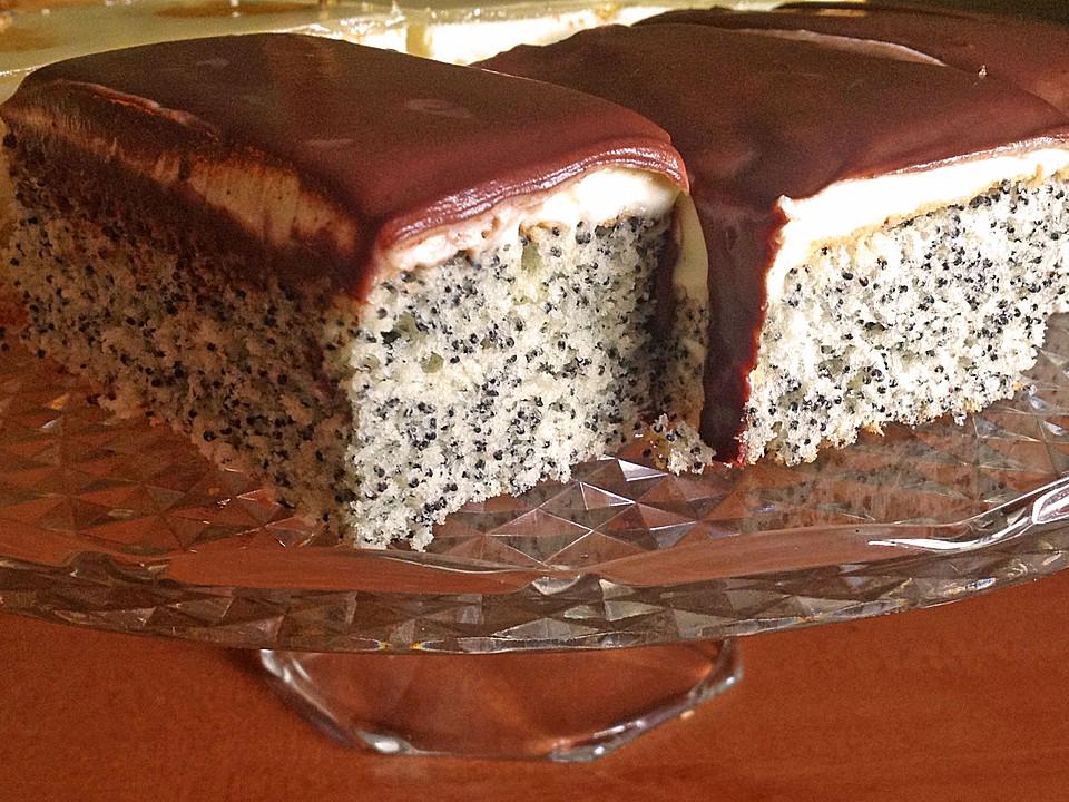 Mohnkuchen Vom Blech Von Bloeb Chefkoch De